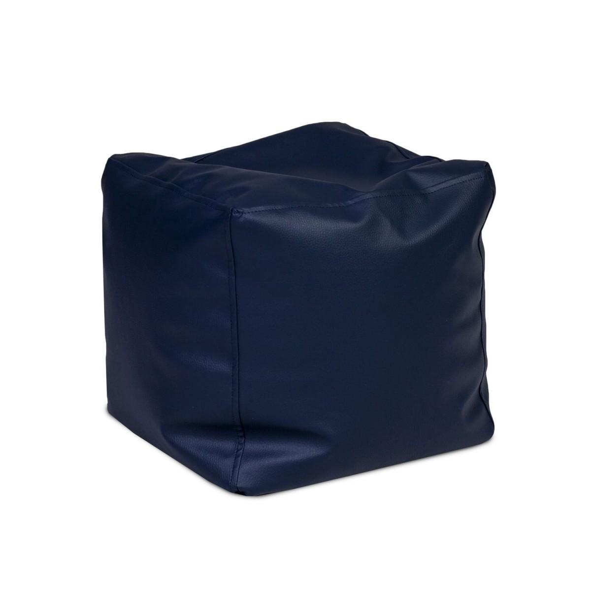 Pufa Cube Large Ekoskóra