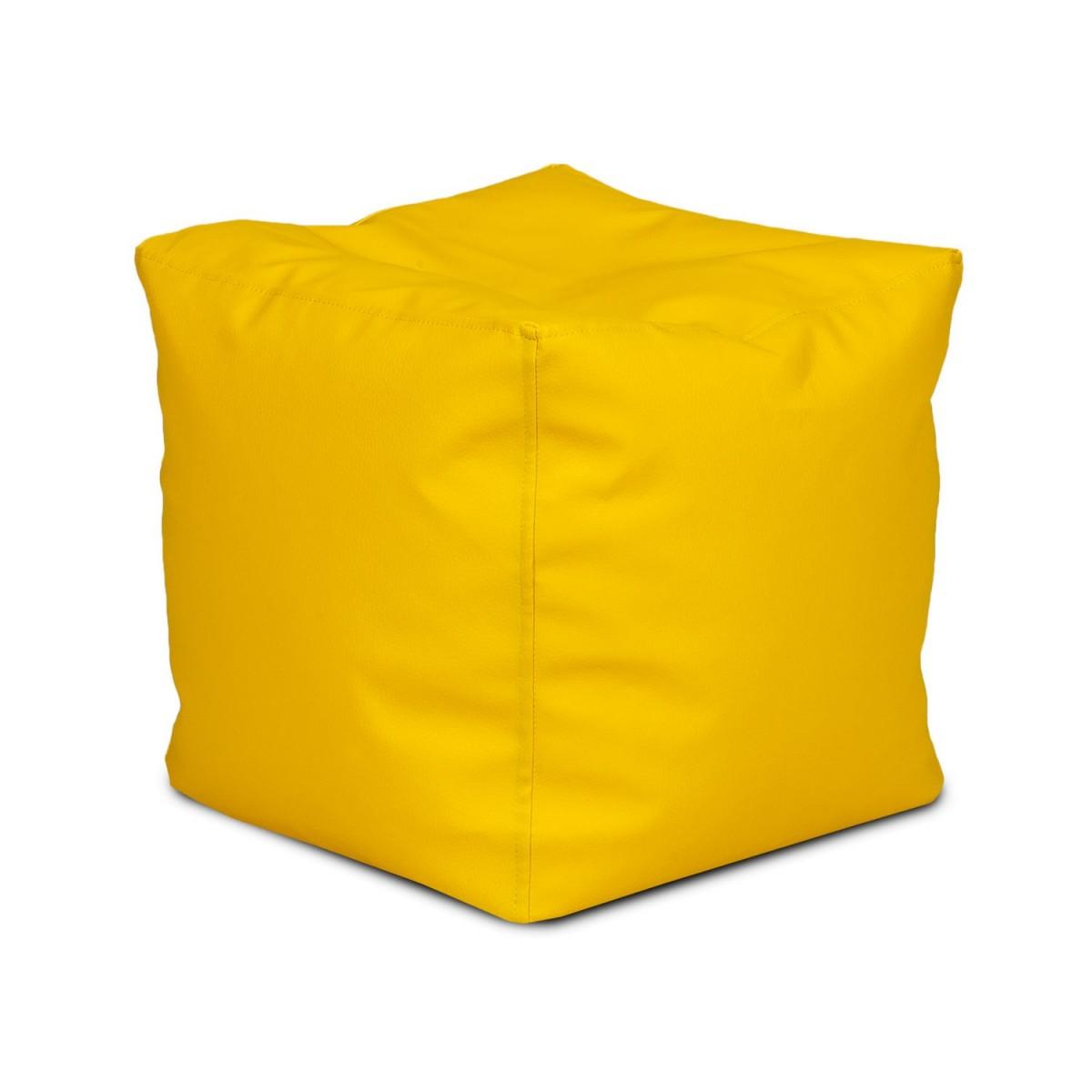 Pufa Cube Small Ekoskóra