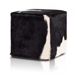 Pufa Cube Premium Skóra Bydlęca